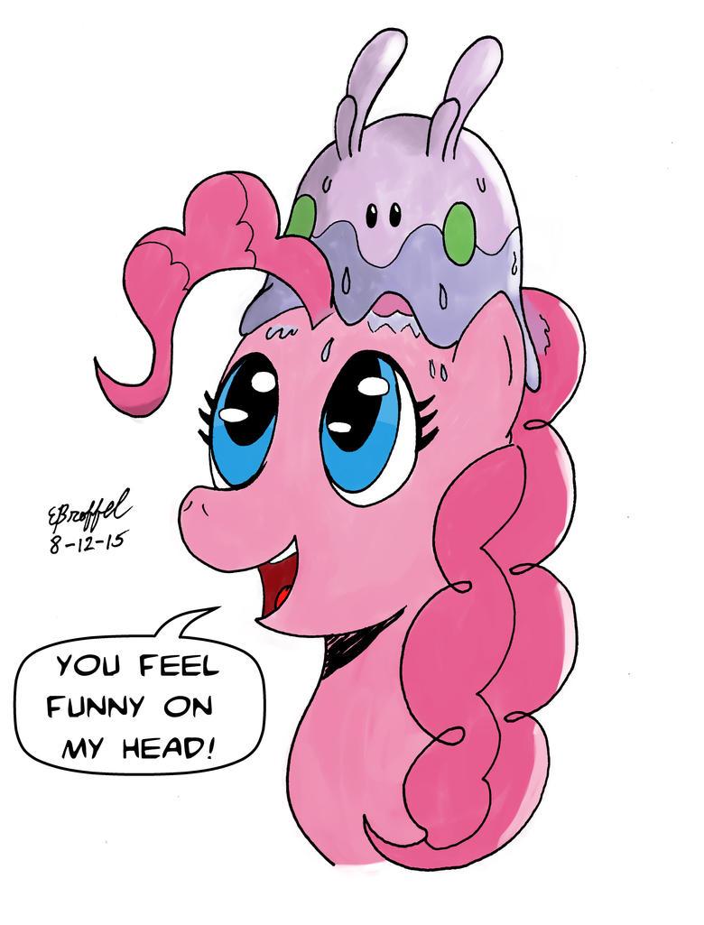 Goomy On a Pinkie by Cartoon-Eric