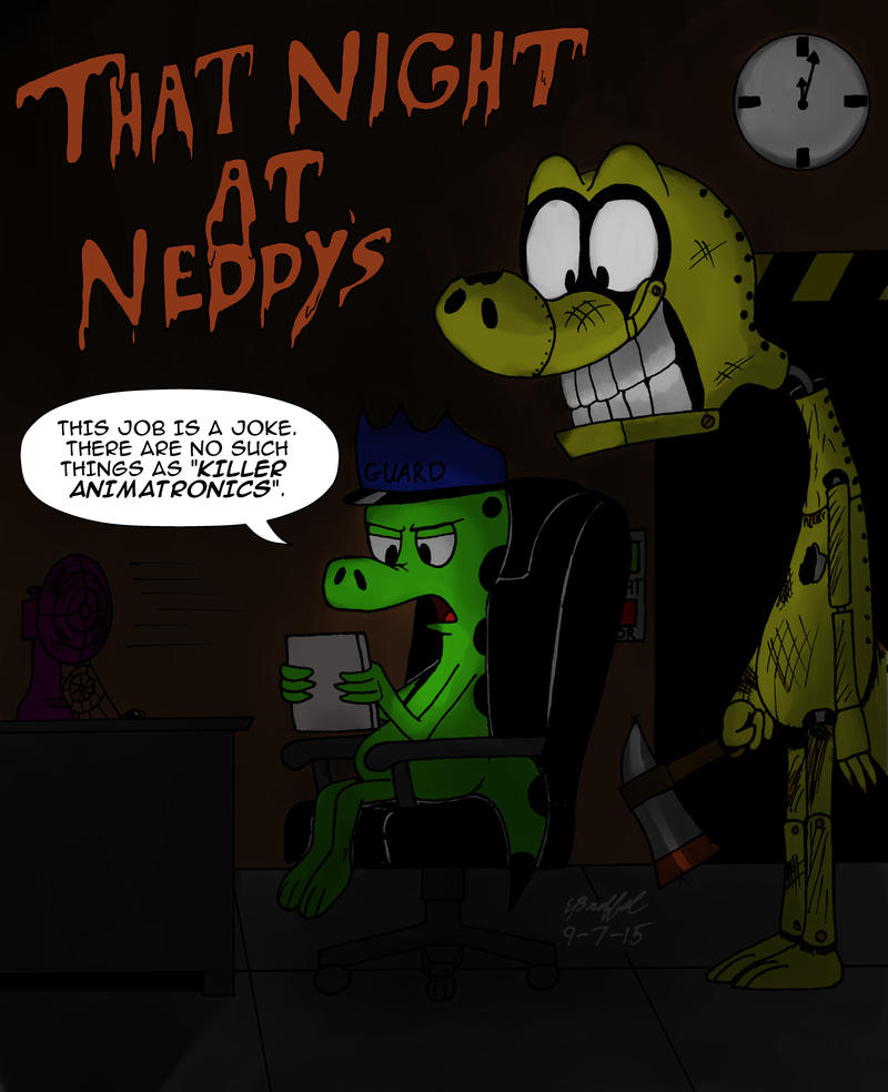 That Night at Neddy's by Cartoon-Eric