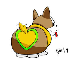Heart Butt Yamper