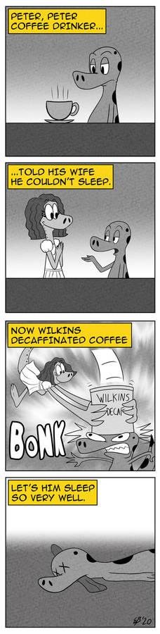 Peter, Peter, Coffee Drinker