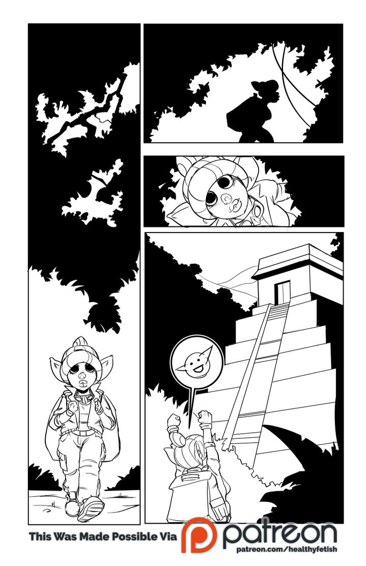 Explorer Gobo, Page 1 Inks by 3pyon