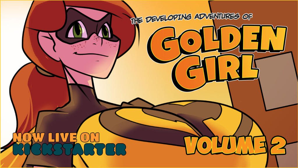 Golden Girl Volume 2's Kickstarter is now LIVE by 3pyon