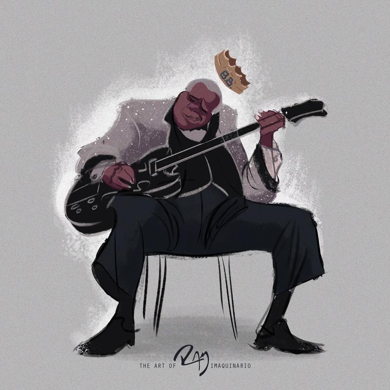B.B. King by Ram-Imaquinario
