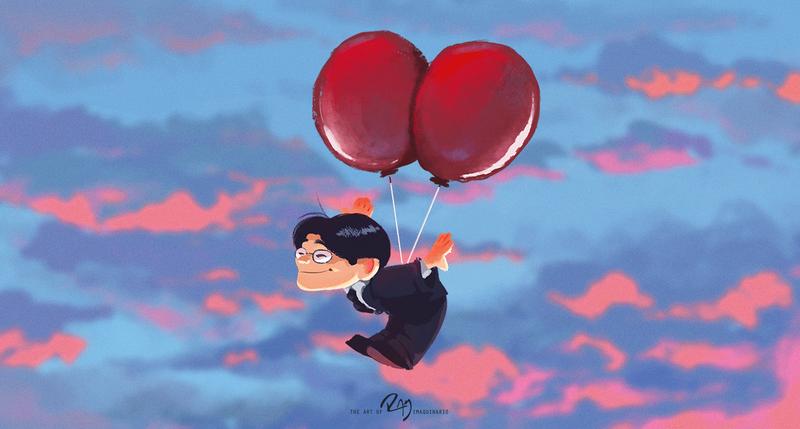 Satoru Iwata by Ram-Imaquinario