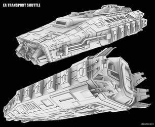 EA transport shuttle by keshon83