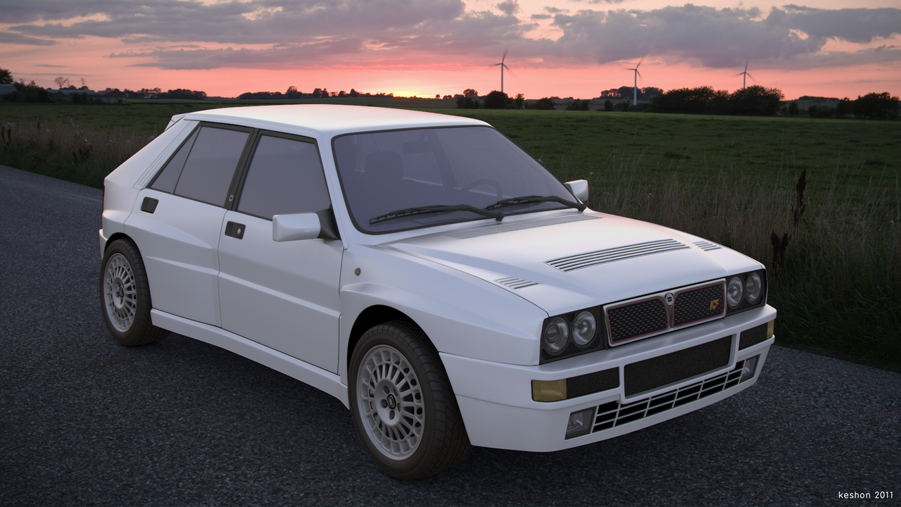 lancia delta hf integrale by keshon83 on deviantart. Black Bedroom Furniture Sets. Home Design Ideas