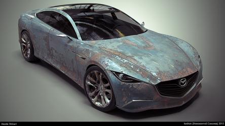 Rusty Mazda Shinari #3 by keshon83