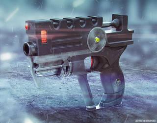 Korben Dallas gun (The Fifth Element) by keshon83