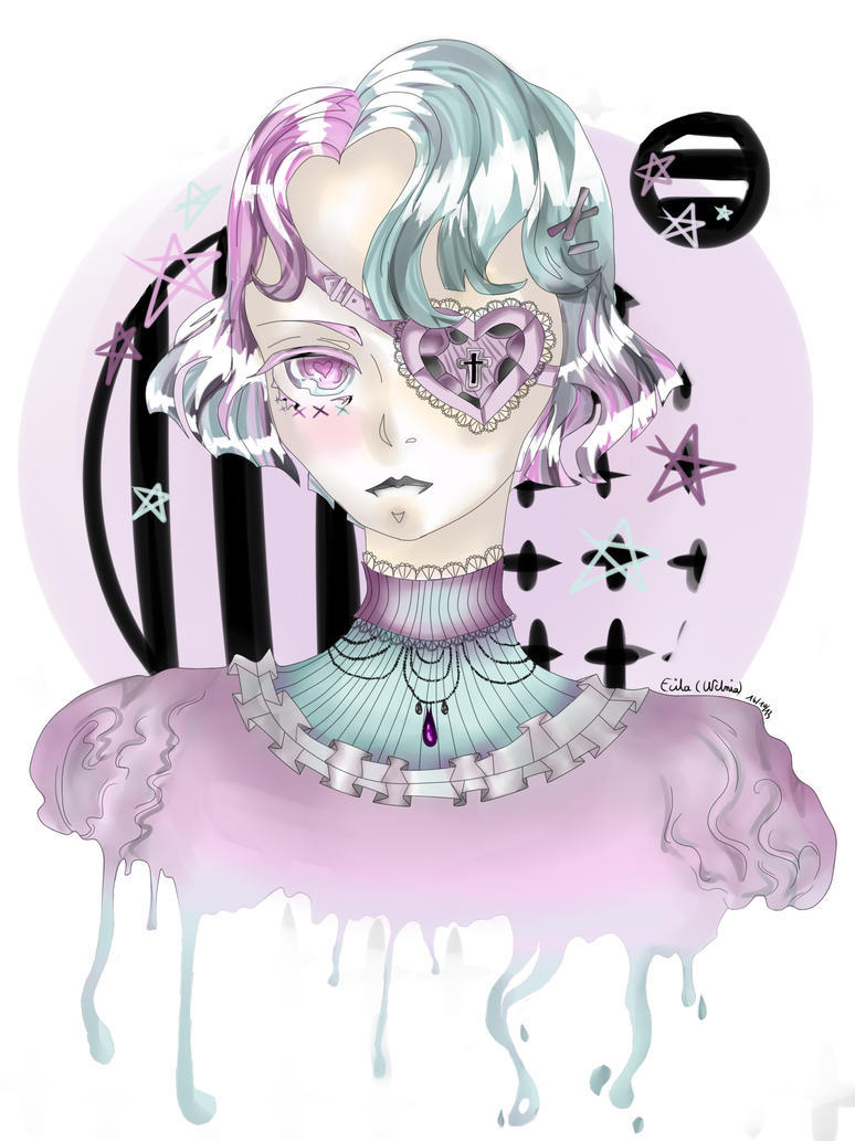 Pastel Goth by Welnia on DeviantArt