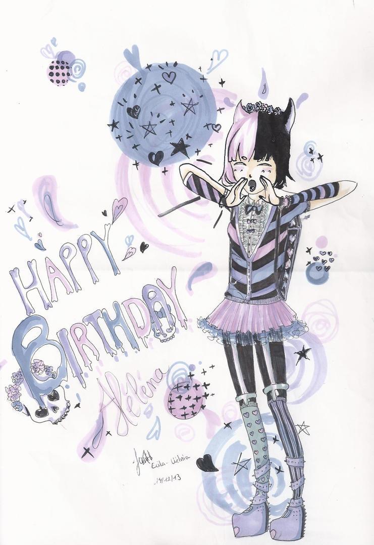 Pastel goth birthday card by welnia on deviantart pastel goth birthday card by welnia bookmarktalkfo Gallery
