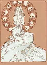 Mucha Zombie by hinstarsion