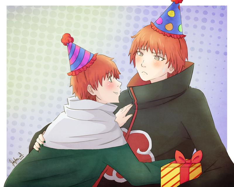 Happy Birthday Sasori! by JauntyEyes