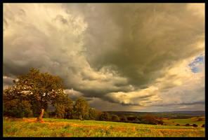 Distant Rain by rad-ix