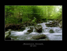 Mountain Stream by rad-ix