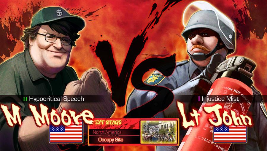 Moore VS Lt John by Pazero