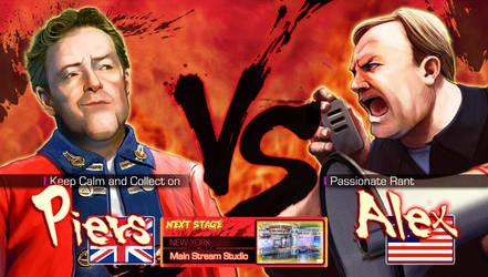 Piers Morgan VS Alex Jones by Pazero
