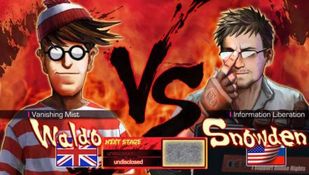 Waldo vs Snowden by Pazero