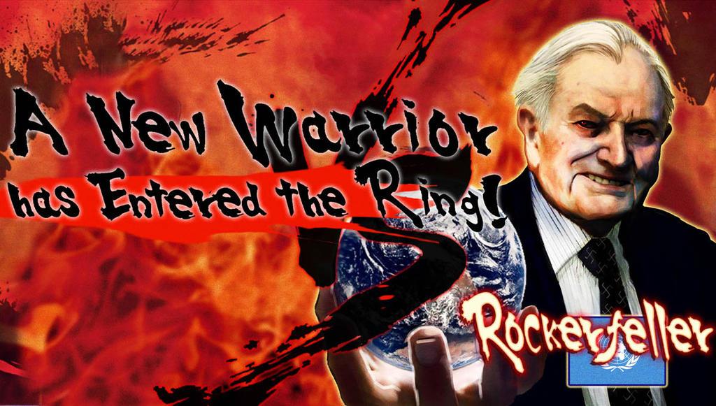 Rockerfeller Entered the Ring