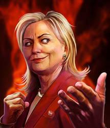 Hillary by Pazero
