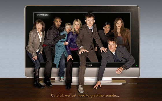 Doctor Who, Ten and Friends TV