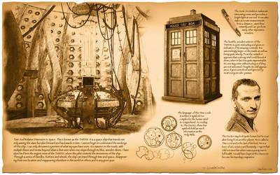 Doctor Who, TARDIS by da Vinci