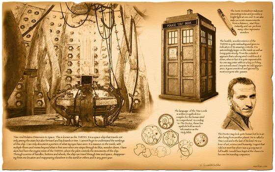 Doctor Who, TARDIS by da Vinci