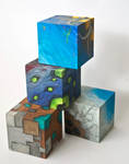 Elemental Cubes (Side)