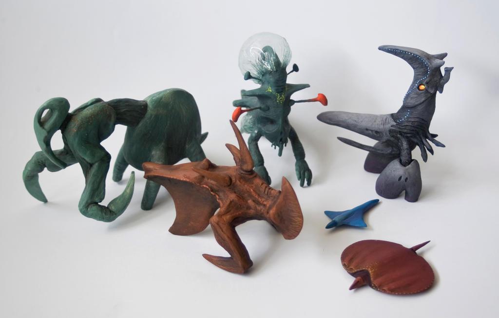 Darwinian Creatures 2.0 by AirborneTerror on DeviantArt