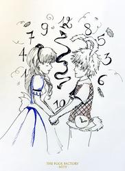 Inktober #14 - Nity [Clock]