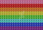 Chocobo Gilbert Baker Rainbow Flag by videogamenerd1991