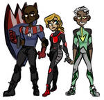 Young Avengers by Vaddia