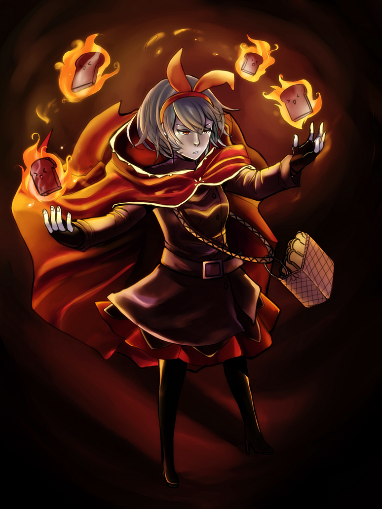 MAGE: Firestarter. by CelesteBlue