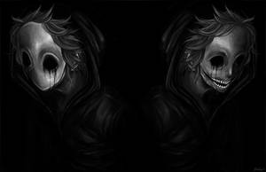 Seeing his face    (Eyeless Jack x Reader oneshot) by