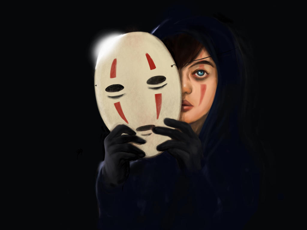 No Face by Blue-Forest-Phoenix