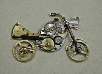 Handmade Steampunk Motorcycle by lollollol2