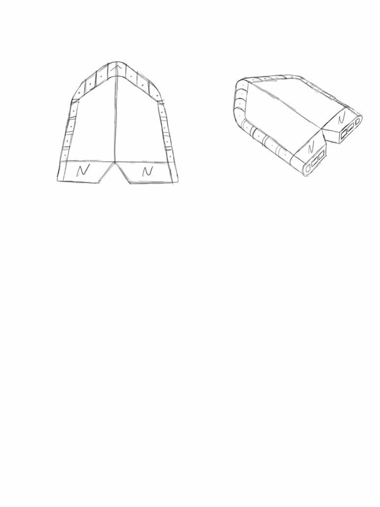 Sketch This challenge: Futuristic Plane by hamstap85