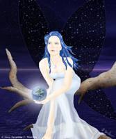 The Sky Faerie by lilyinblue