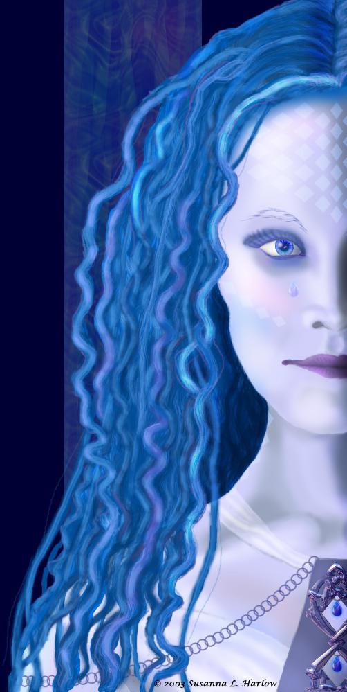 Blue Demon by lilyinblue