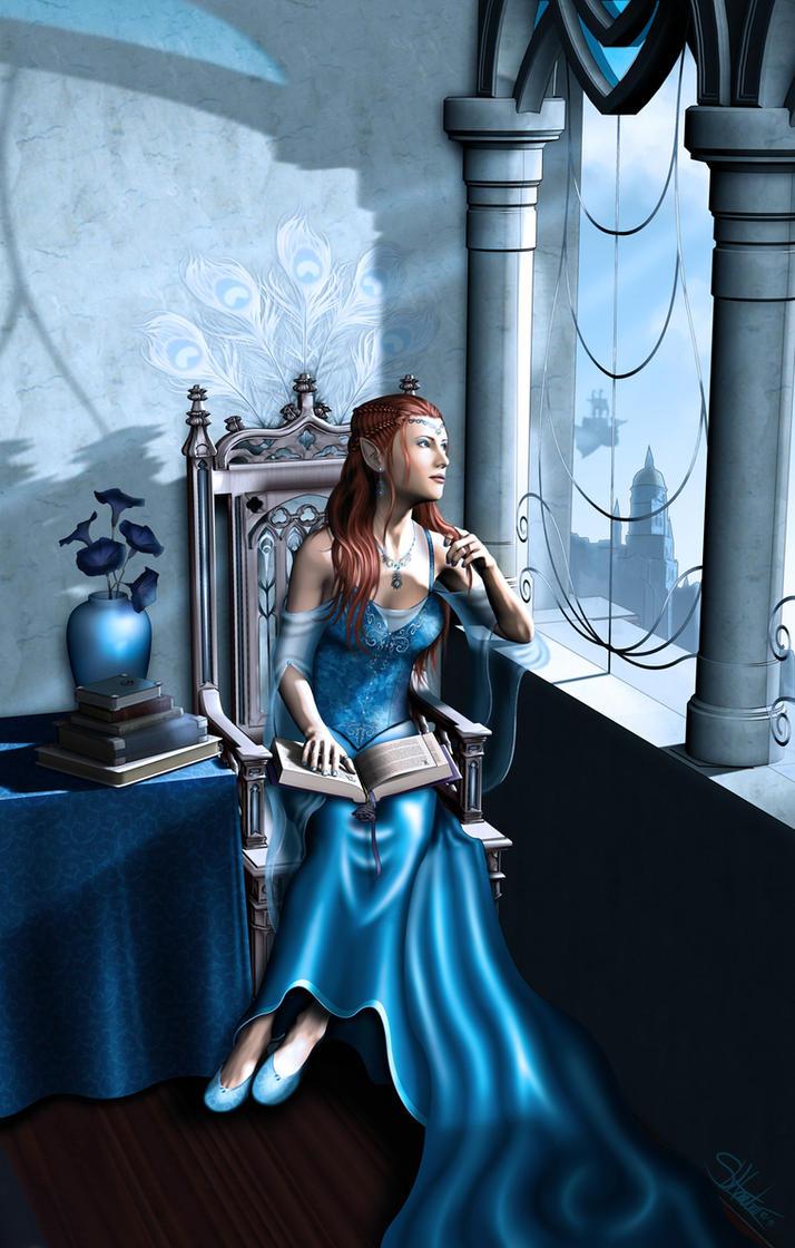 The Mirror Alone - Gemstone IV by lilyinblue