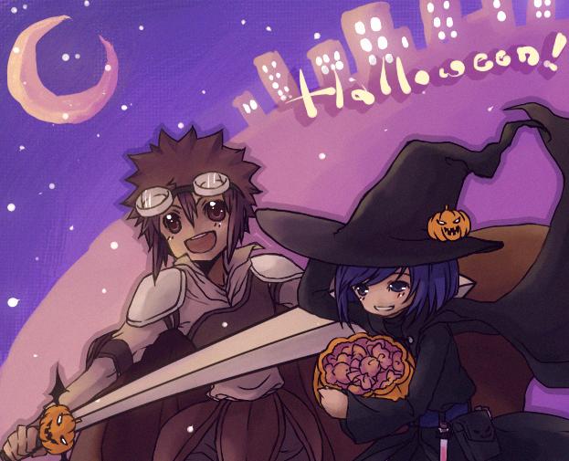 Halloween by eevee-moon