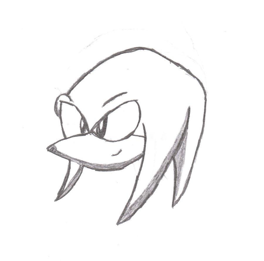 how to draw ugandan knuckles head