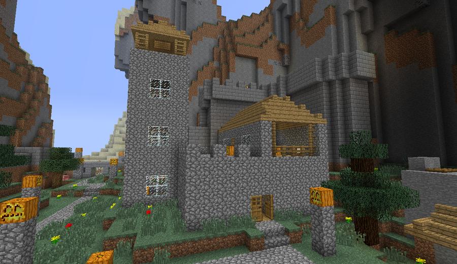 Mi casa in minecraft by soyersoldier on deviantart - Fotos de casas del minecraft ...