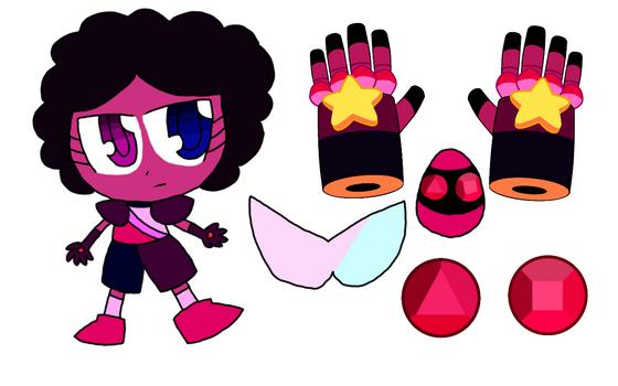 SU x SC - Gem Guardian Character: Garnet