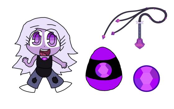 SU x SC - Gem Guardian Character: Amethyst