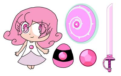 SU x SC - Gem Guardian Character: Rose Quartz