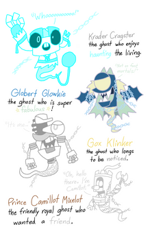 MXLS - Krader, Globert, Gox and Camillot as Ghosts