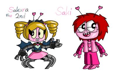 Mixels - Sakura the 2nd and Saki