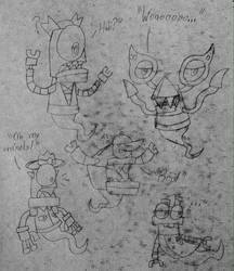 Mixels - Mixadults as Ghosts by PogorikiFan10