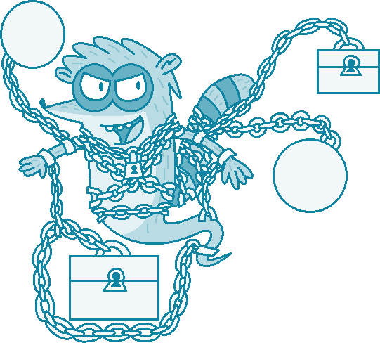 Rigby As Jacob Marley (Ver. 2) Vector By PogorikiFan10 On