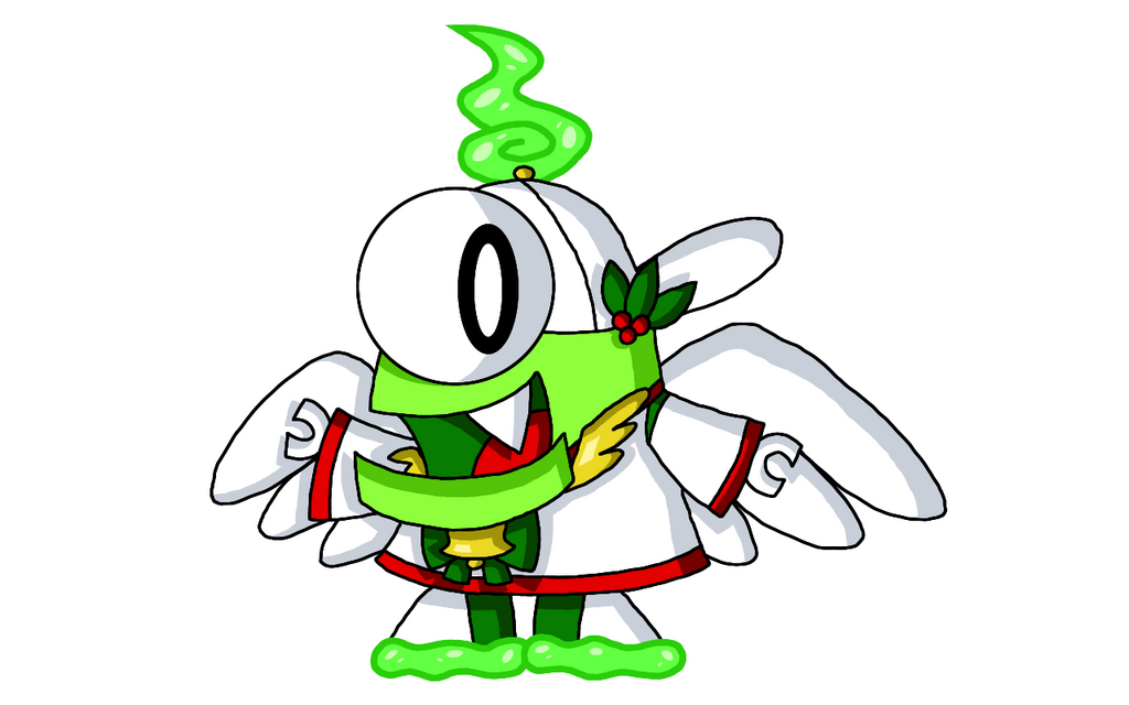 Mixels - Booger as the Ghost of Christmas Past by PogorikiFan10